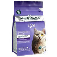 Arden Grange (Арден Грендж) ADULT CAT Light 0,4кг. - корм для кошек с избыточным весом и малоактивных кошек