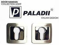 Накладкa под цилиндр Paladii квадратная SN/CP сатен-хром