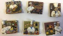 Магнит для холодильника, Шеф-повар, полистоун/металл, Сувениры, Днепропетровск