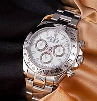 Часы Rolex Daytona silver ( white )