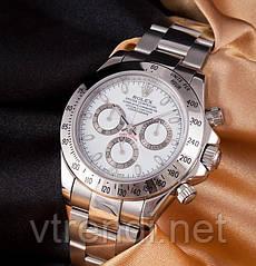 Часы в стиле Rolex Daytona silver ( white )
