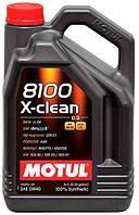 Motul 8100 X-Clean A3/B4/C3 5w40 (5 л.)