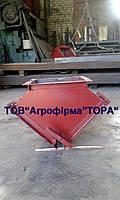 Клапан двухсторонний ручной КДР-300х300