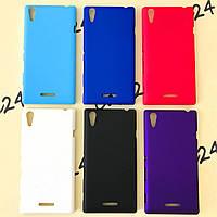 Пластиковый чехол для Sony Xperia T3 D5102 (6 цветов), фото 1