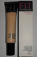Тональный крем Maybelline Fit me foundation in ivory
