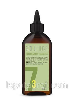 Тонизирующее средство против выпадения волос Id Hair Solutions № 7-3, 200 мл