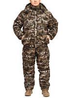 """Зимний костюм из непромокаемой ткани """"Форрест"""" до -30℃  (короткая куртка)"""