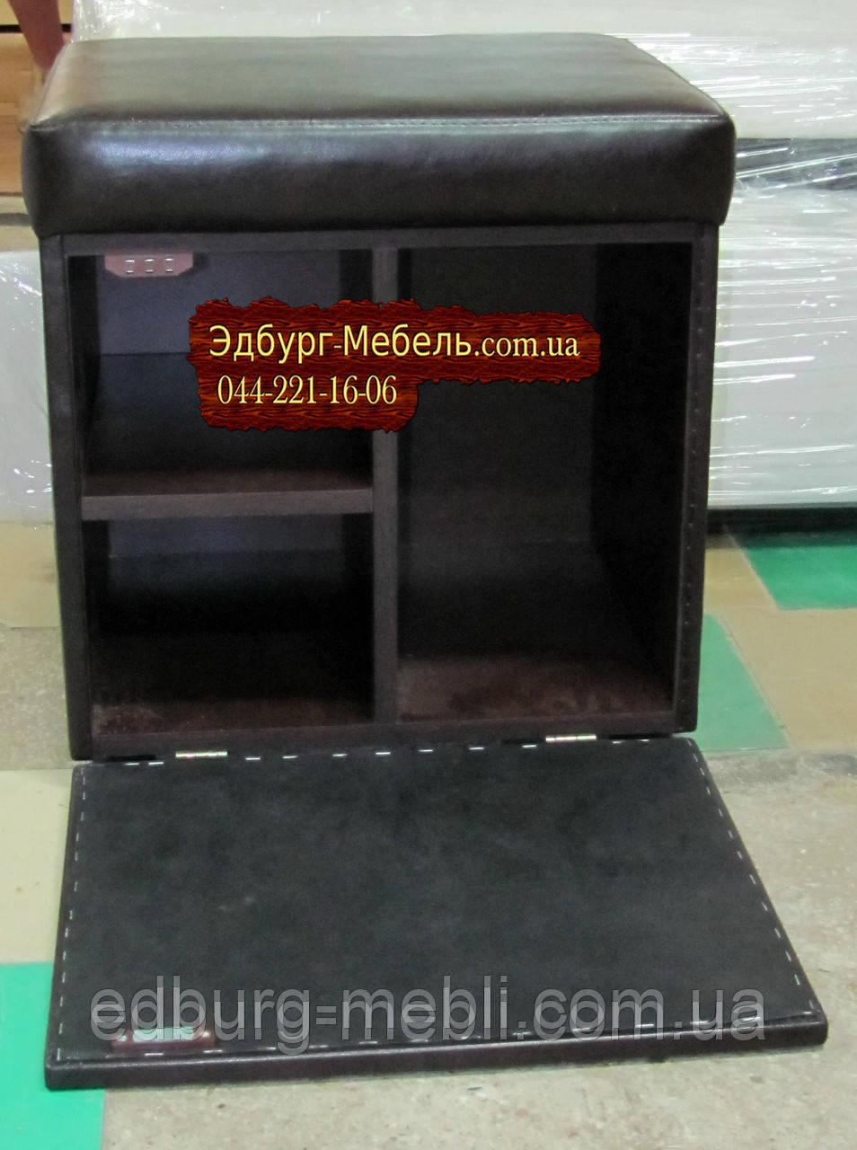 Пуф-шкаф под заказ 500х400х540мм.