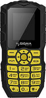 Телефон Sigma mobile Х-treme IO68 Bobber Black-yellow '5
