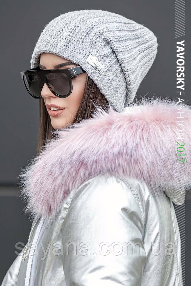 женская красивая шапка