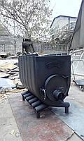 Печь-булерьян увеличеный с варочной поверхностью Buller 250-300м3 тип 01-У