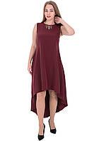 Платье 11 бордовое