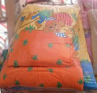 Набор одеяло и подушка на синтепоне  Джунгли