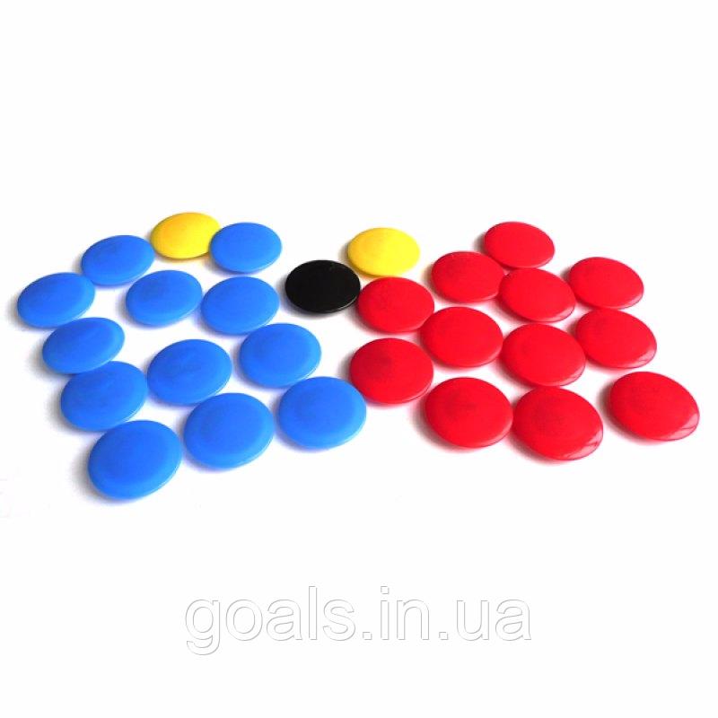 Разноцветные магниты для тактической доски (27 magnets)