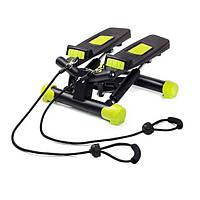 Мини-степпер FitKraft Swing II с эспандерами, фото 1