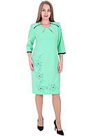 Платье 6118 Зеленого цвета