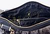 Кожаная сумка с мехом чернобурки, фото 5
