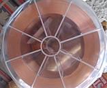 Проволока сварочная омедненная Св08Г2С 1,0мм 18кг, фото 2