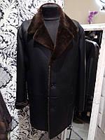Дубленка - пиджак мужская  037тдм