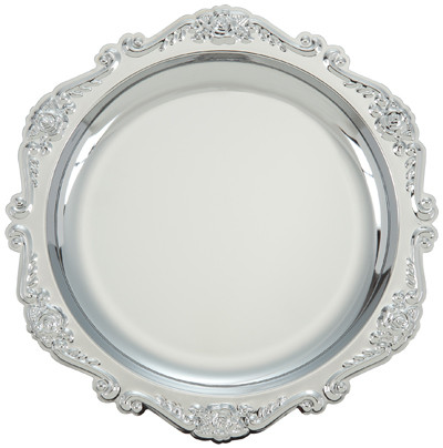 """Тарелка сувенирная """"D261"""" металлическая"""