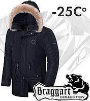 Braggart 'Black Diamond'. Куртка зимняя 3465 графит