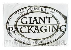 Салфетки бумажные Primera Giant Packaging Барные однослойные 24 х 24 см - 1000 шт.