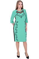Платье 648 бирюзовое