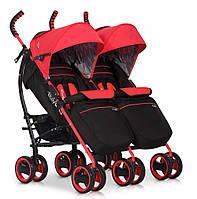 Коляска EasyGo Comfort Duo scarlet , фото 1