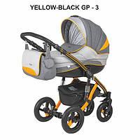 Универсальная коляска 2в1 Adamex Aspena Grand Prix Collection Yellow Black