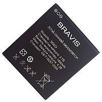 Аккумулятор к телефону Bravis Solo 1400mAh