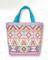 BAG016 сумка с вышивкой крестом Luca-S