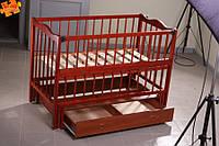 Детская кроватка Кузя Ангелина с ящиком, фото 1
