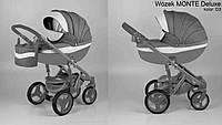 Универсальная коляска 2в1 Adamex Monte Carbon Deluxe D3