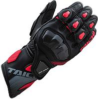 Мотоперчатки RS TAICHI GP-WRX кожа черный красный M