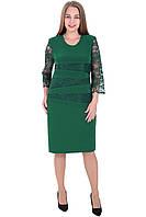 Платье 658 Зеленого цвета