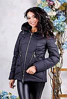 Женская куртка. -черный  (44, 48)