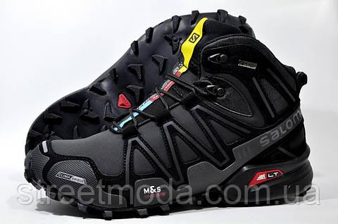 Мужские зимние кроссовки в стиле Salomon Speedcross 3 Mid adada14a9639f