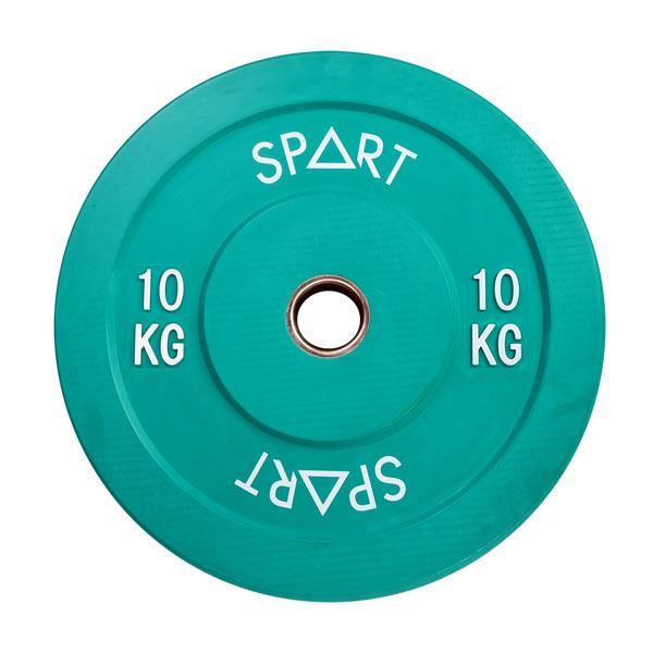 SPART (Бамперный диск 10 кг) (PL42-10)