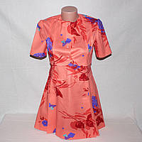 Платье розовое в стиле ретро для фотосессии р.42