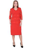 Платье 658 Красного цвета