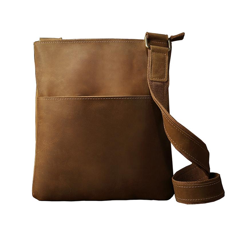 80d801c1c99f Мужская кожаная сумка ручной работы. Модель 63289 - Интернет-магазин