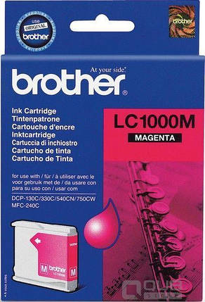 Картридж Brother DCP-130/ 330/ 350, MFC240C/ 465CN/ 885CW magenta, фото 2