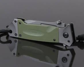 Нож складной DA35 TANTO олива, фото 2