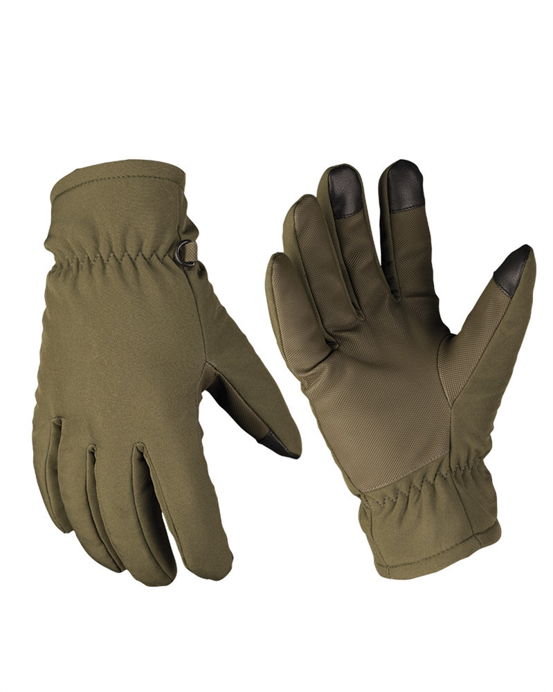 Перчатки утеплённые Softshell Handschuhe Thinsulate Olive