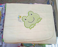 Стёганный плед-одеяло Жабка