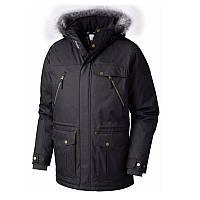 Мужская пуховая куртка Columbia BARLOW PASS 550 TURBODOWN™ JACKET  черно-серая 1619283-014 182ee5c3f9c