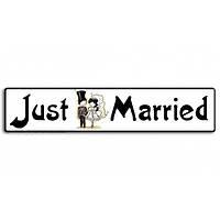 "Номера на свадебную машину ""Just married"" (арт. AN-15)"