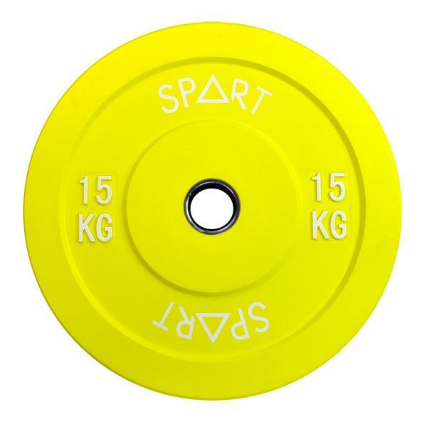 SPART (Бамперный диск 15 кг) (PL42-15)
