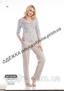 Домашний комплект, пижама женская  LNP 122/001(ELLEN). Коллекция осень-зима 2018! Спешите быть первыми!