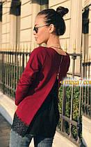 """Блуза с шифоновой спинкой """"Goldy""""  Распродажа, фото 3"""